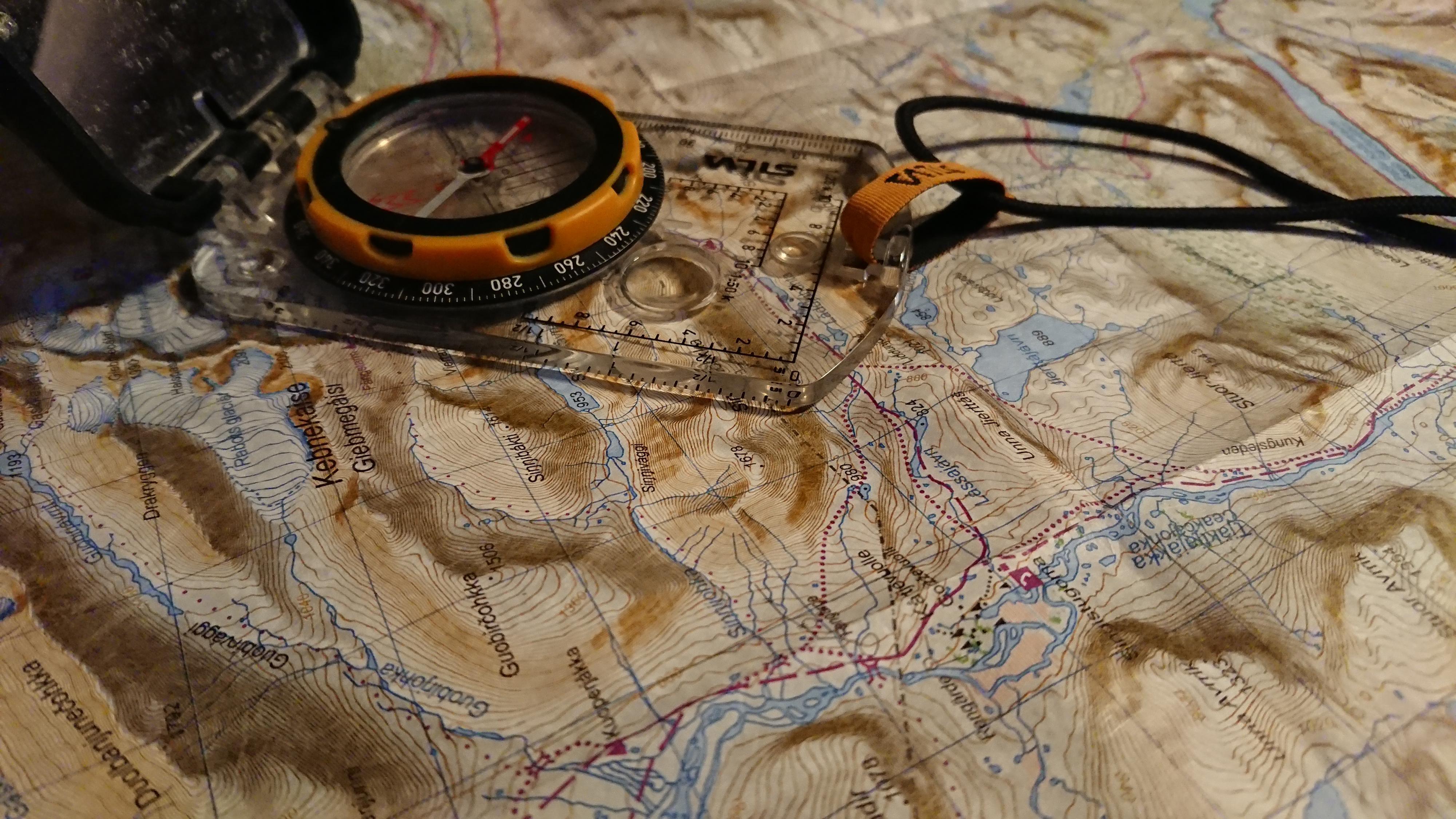 Kompass karta